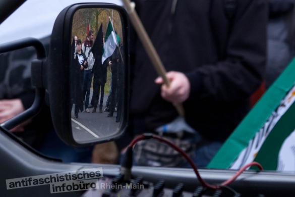 Aufmarsch von Neonazis am 23.11.2013 in Remagen